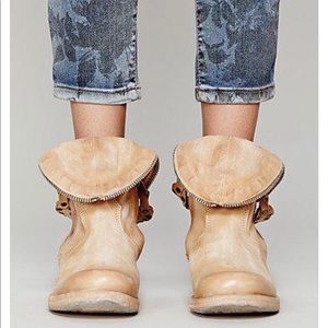 Free people dagny booties by as98 size 39